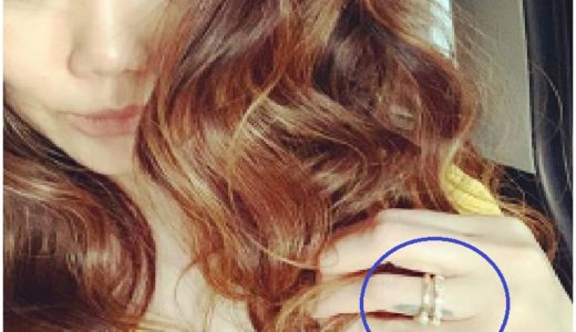 JUJUが結婚指輪を付けていた時期は?[画像]相手(旦那)は誰?