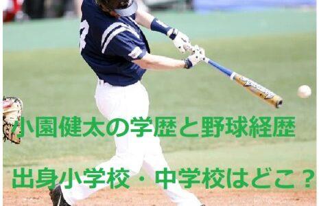 小園健太 出身小学校・中学は大阪府貝塚市のどこ?野球経歴が凄い!